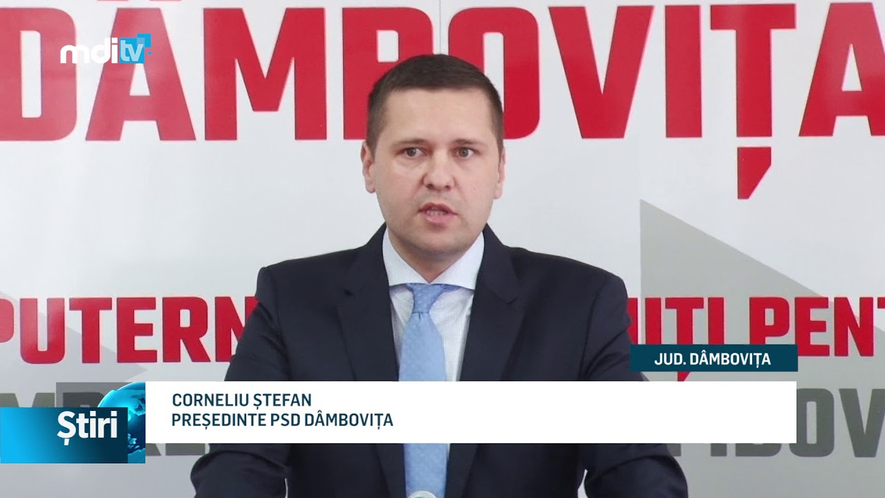PSD DÂMBOVIȚA, CANDIDAT PROPRIU PENTRU CJD