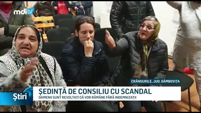 ȘEDINȚĂ DE CONSILIU CU SCANDAL