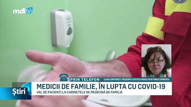 MEDICII DE FAMILIE, ÎN LUPTA CU COVID-19