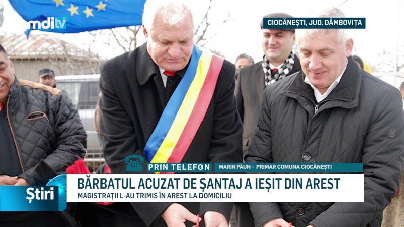 BĂRBATUL ACUZAT DE ȘANTAJ A IEȘIT DIN AREST