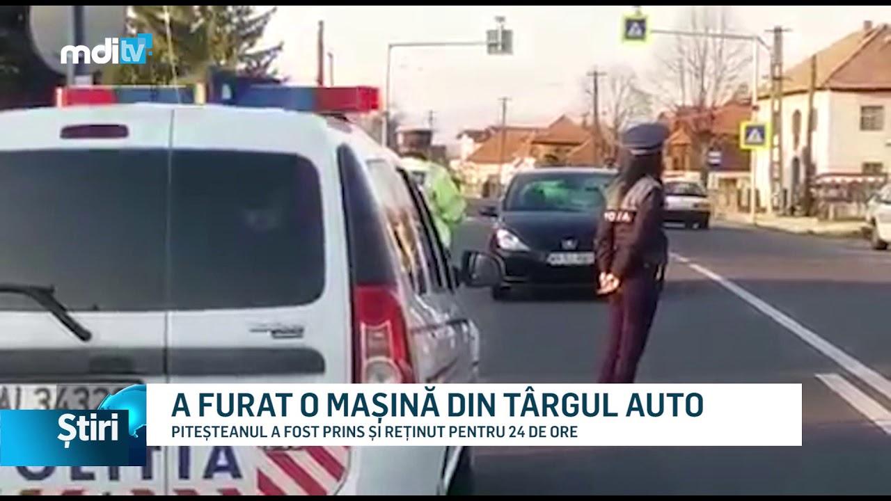 A FURAT O MAȘINĂ DIN TÂRGUL AUTO