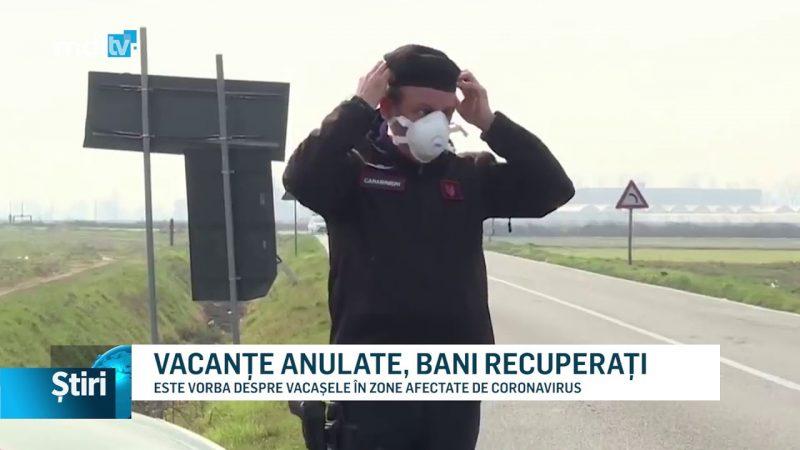 VACANȚE ANULATE, BANI RECUPERAȚI