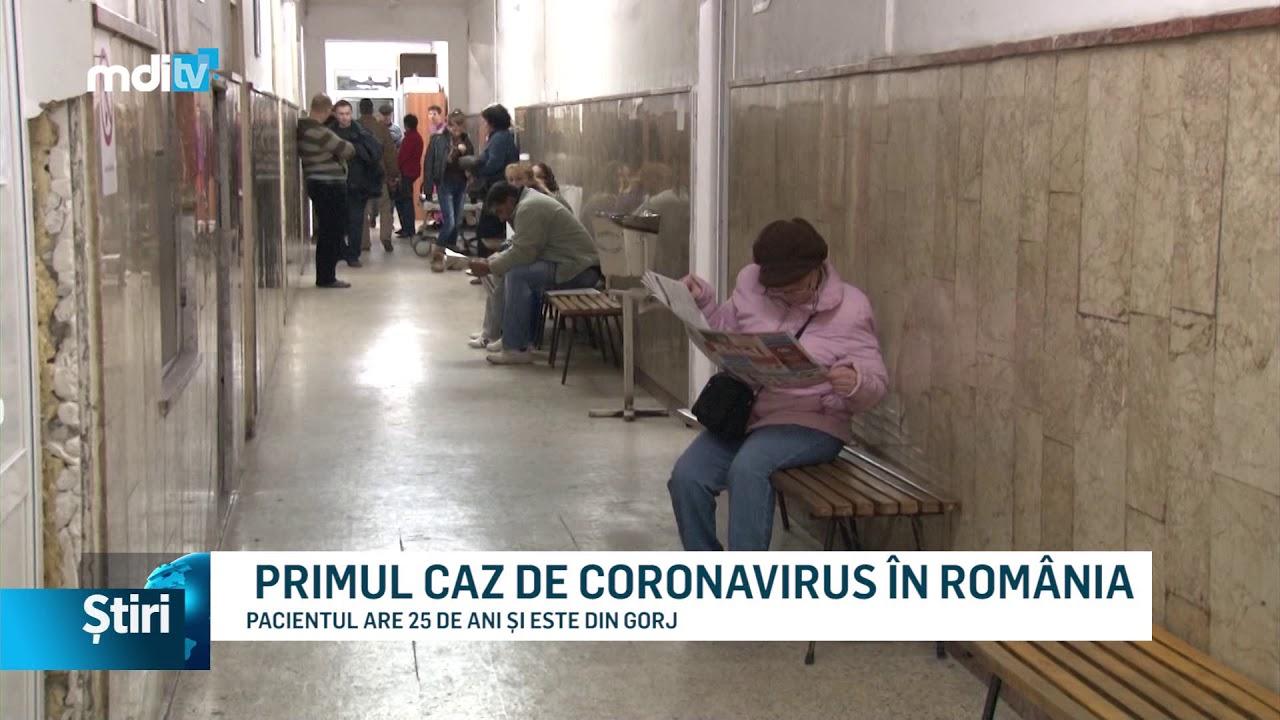 PRIMUL CAZ DE CORONAVIRUS ÎN ROMÂNIA