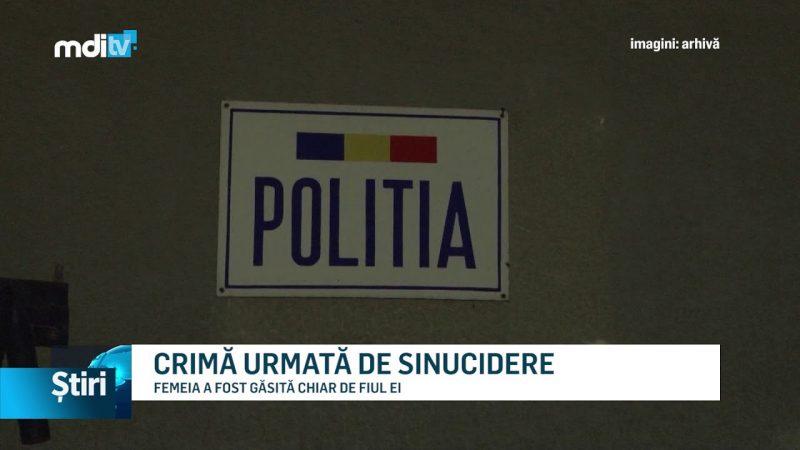 CRIMĂ URMATĂ DE SINUCIDERE