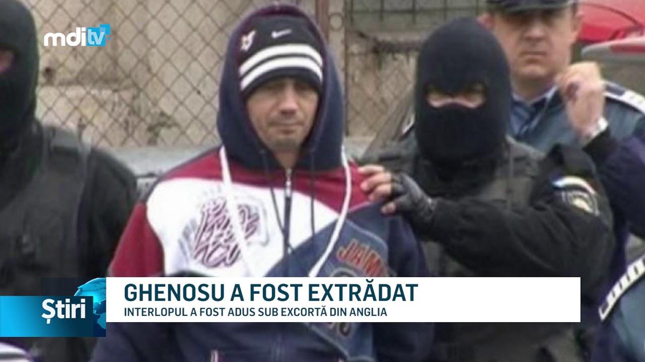 GHENOSU A FOST EXTRĂDAT