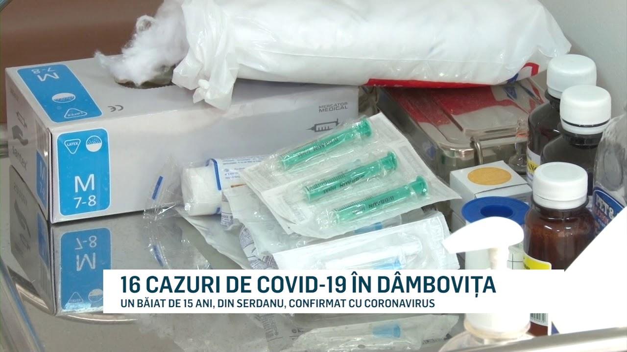 16 CAZURI DE COVID-19 ÎN DÂMBOVIȚA