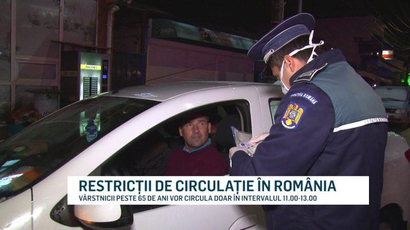 RESTRICȚII DE CIRCULAȚIE ÎN ROMÂNIA