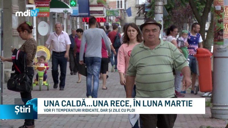UNA CALDĂ…UNA RECE, ÎN LUNA MARTIE