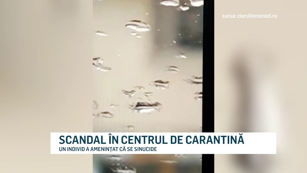 SCANDAL ÎN CENTRUL DE CARANTINĂ
