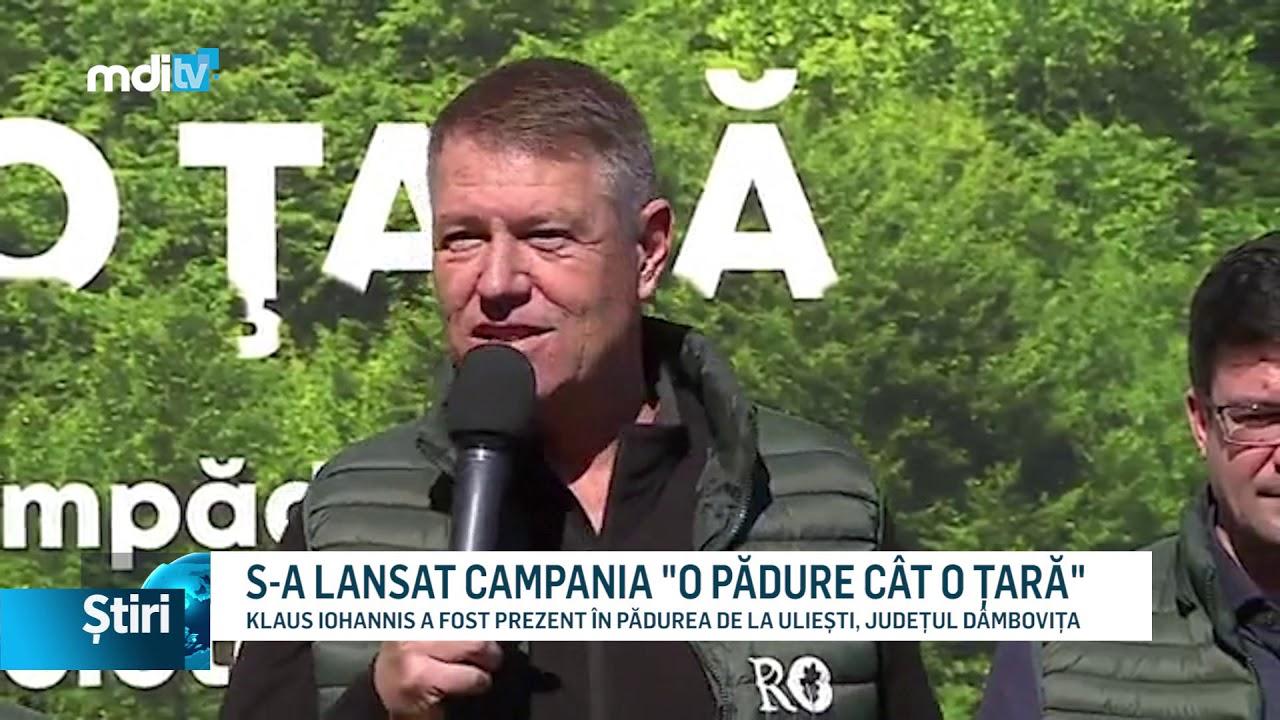 """S-A LANSAT CAMPANIA """"O PĂDURE CÂT O ȚARĂ"""""""