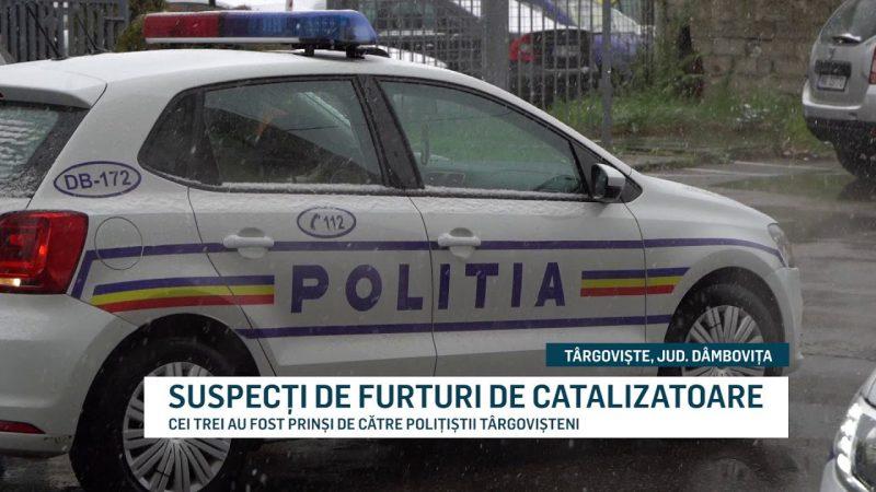 SUSPECȚI DE FURTURI DE CATALIZATOARE