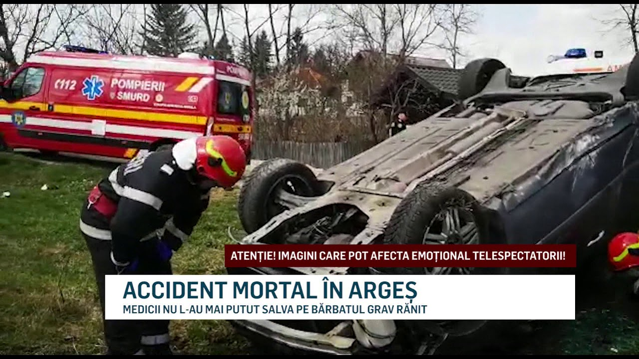 ACCIDENT MORTAL ÎN ARGEȘ