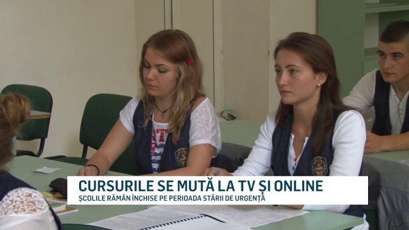 CURSURILE SE MUTĂ LA TV ȘI ONLINE