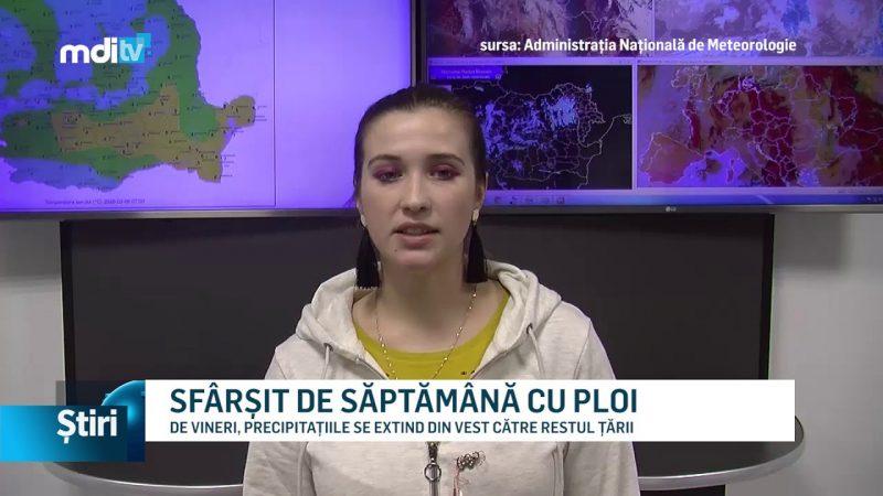 SFÂRȘIT DE SĂPTĂMÂNĂ CU PLOI