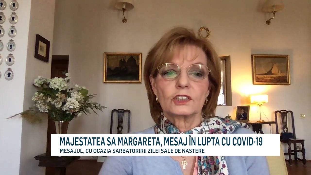 MAJESTATEA SA MARGARETA, MESAJ ÎN LUPTA CU COVID-19
