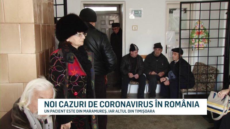 NOI CAZURI DE CORONAVIRUS ÎN ROMÂNIA