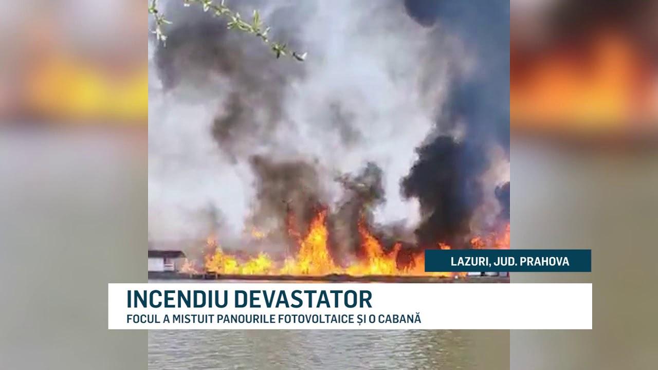 INCENDIU DEVASTATOR