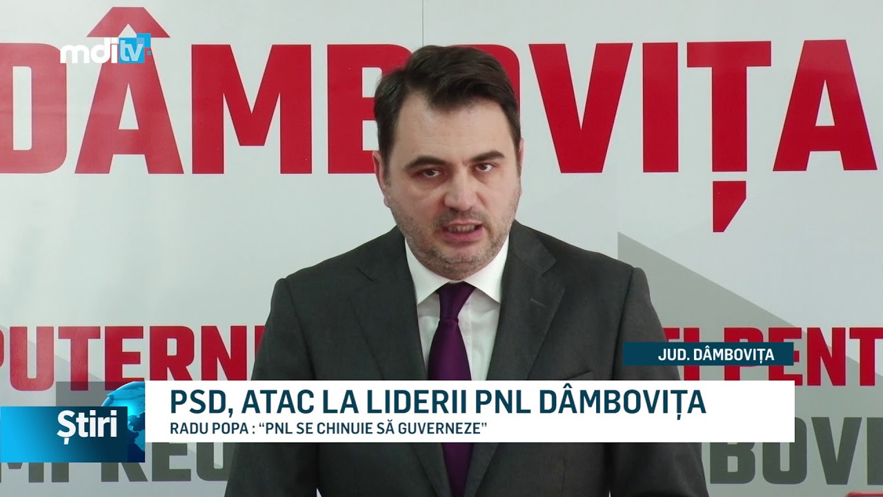 PSD, ATAC LA LIDERII PNL DÂMBOVIȚA