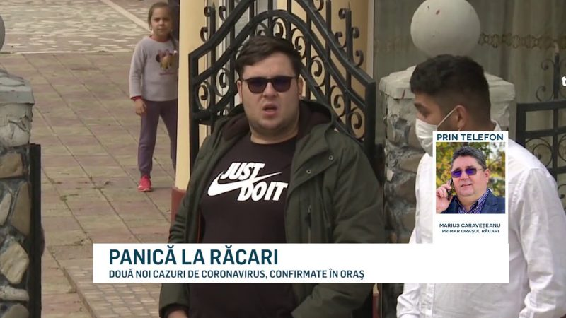 PANICĂ LA RĂCARI