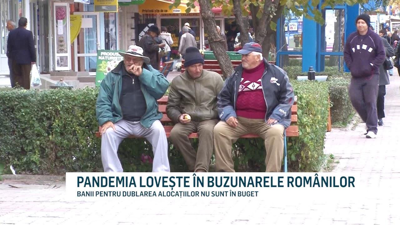 PANDEMIA LOVEȘTE ÎN BUZUNARELE ROMÂNILOR