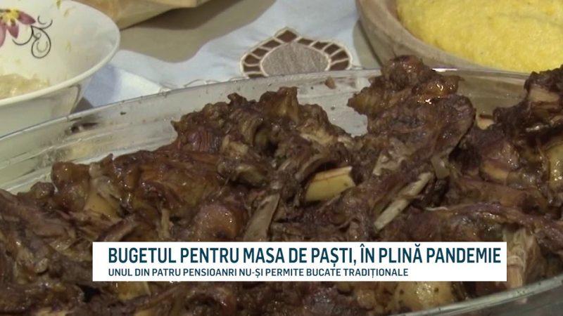 BUGETUL PENTRU MASA DE PAȘTI, ÎN PLINĂ PANDEMIE