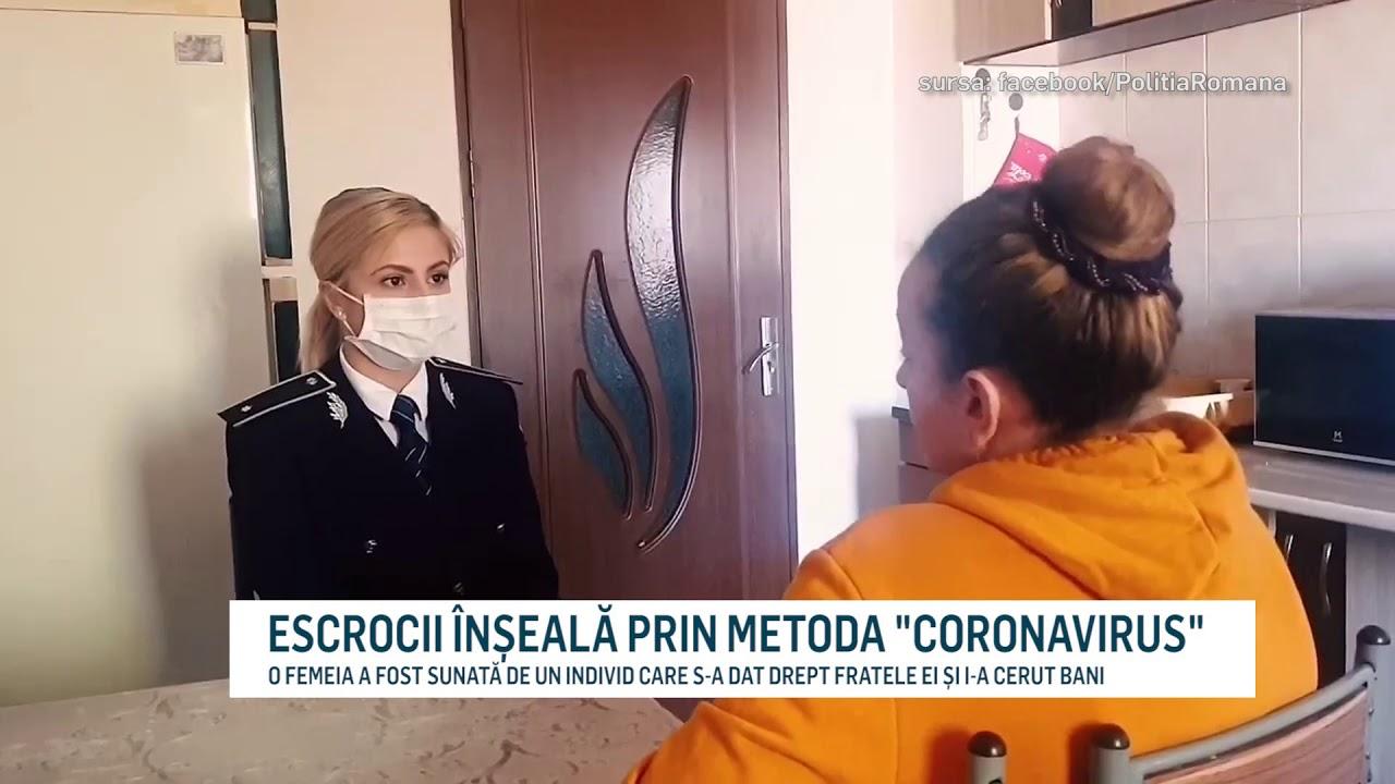 """ESCROCII ÎNȘEALĂ PRIN METODA """"CORONAVIRUS"""""""