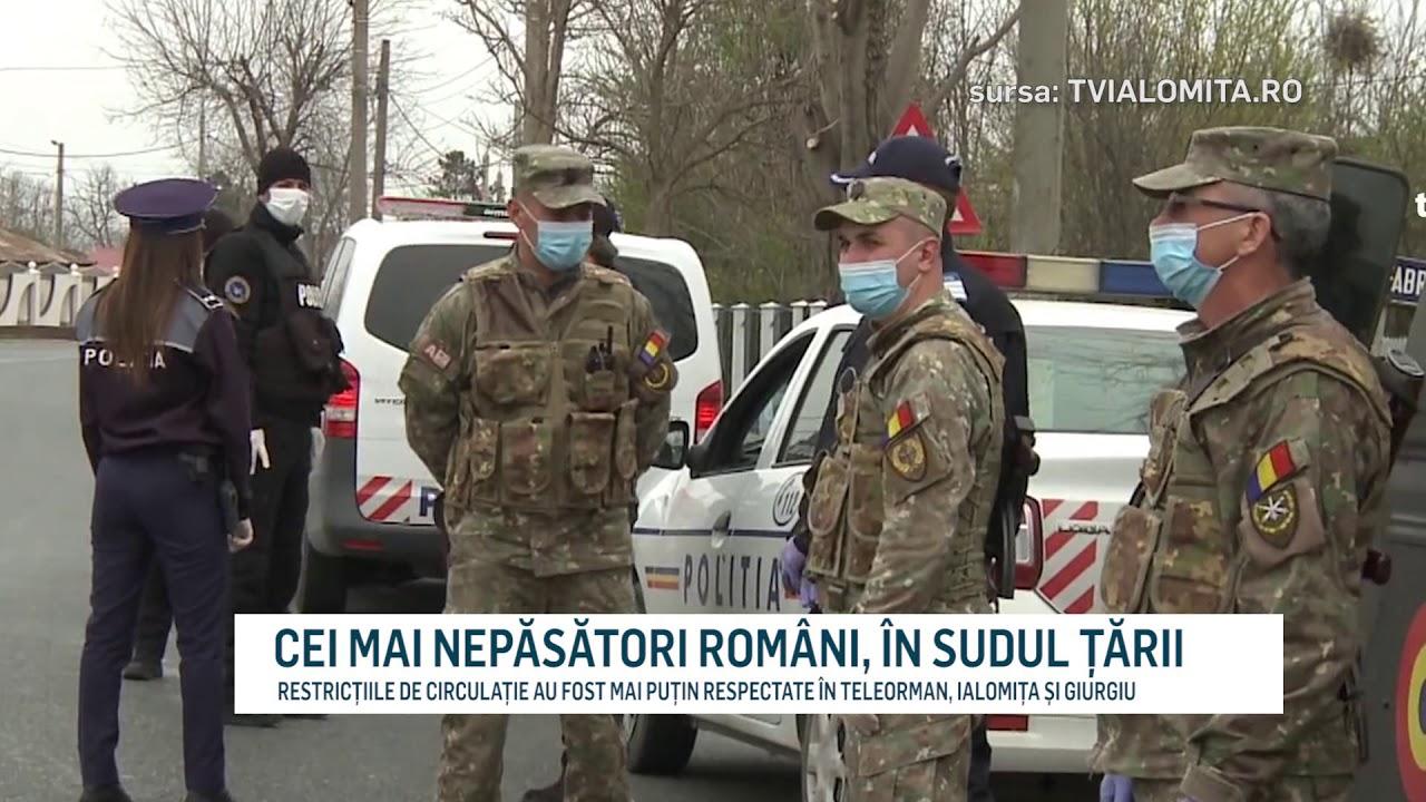 CEI MAI NEPĂSĂTORI ROMÂNI, ÎN SUDUL ȚĂRII