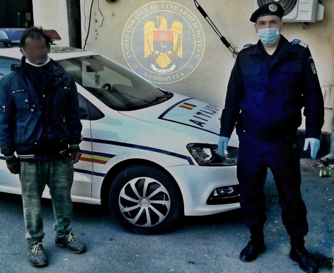 CONDMANAT LA ÎNCHISOARE PENTRU FURT,CAPTURAT DE JANDARMI