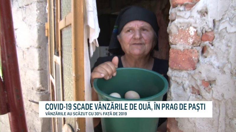 COVID-19 SCADE VÂNZĂRILE DE OUĂ, ÎN PRAG DE PAȘTI