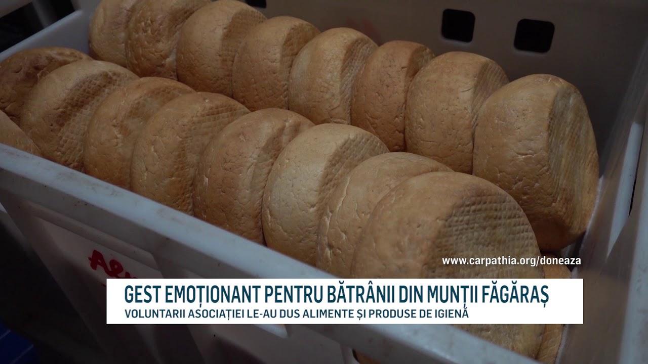 GEST EMOȚIONANT PENTRU BĂTRÂNII DIN MUNȚII FĂGĂRAȘ