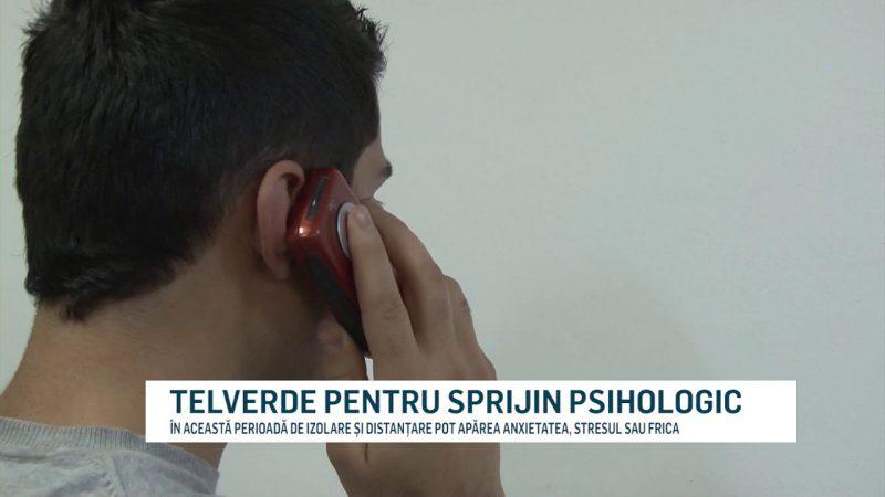 TELVERDE PENTRU SPRIJIN PSIHOLOGIC