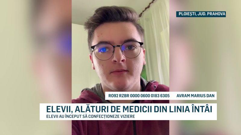 ELEVII, ALĂTURI DE MEDICII DIN LINIA ÎNTÂI