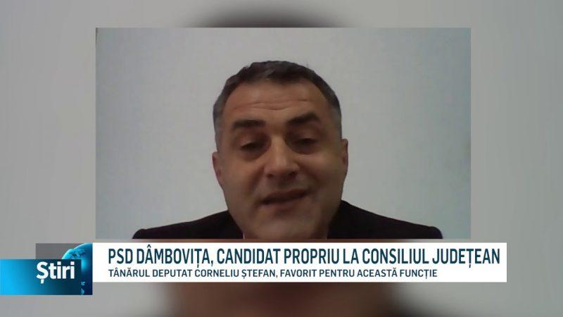 PSD DÂMBOVIȚA, CANDIDAT PROPRIU LA CONSILIUL JUDEȚEAN