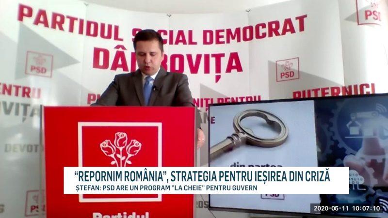 """""""REPORNIM ROMÂNIA"""", STRATEGIA PENTRU IEȘIREA DIN CRIZĂ"""