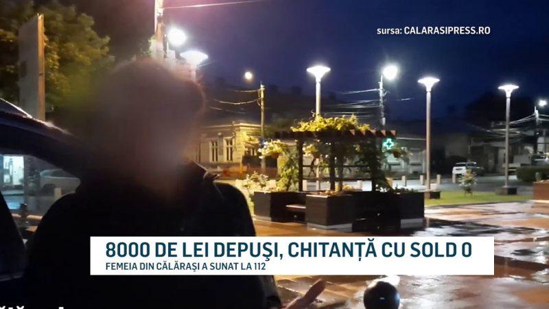 8000 DE LEI DEPUŞI, CHITANŢĂ CU SOLD 0