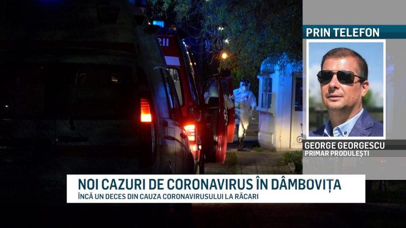 NOI CAZURI DE CORONAVIRUS ÎN DÂMBOVIȚA