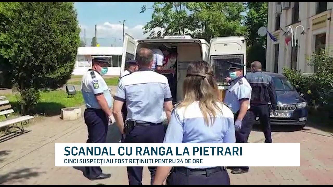 SCANDAL CU RANGA LA PIETRARI