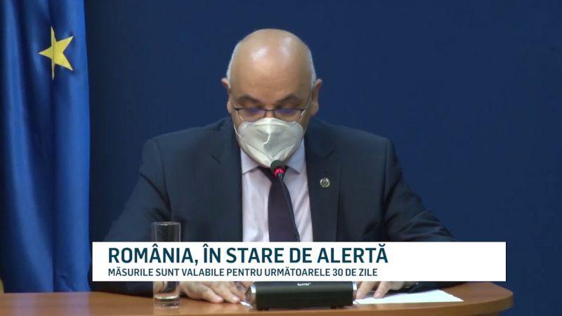 ROMÂNIA, ÎN STARE DE ALERTĂ