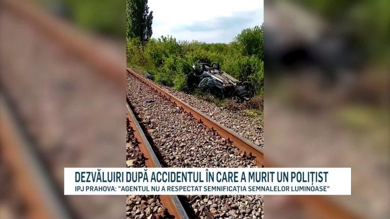 DEZVĂLUIRI DUPĂ ACCIDENTUL ÎN CARE A MURIT UN POLIȚIST