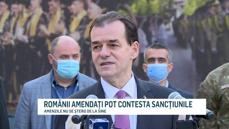 ROMÂNII AMENDAŢI POT CONTESTA SANCŢIUNILE