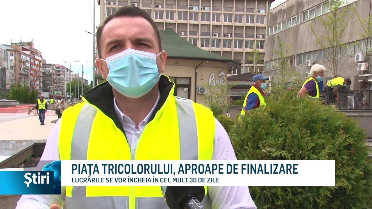 PIAȚA TRICOLORULUI, APROAPE DE FINALIZARE