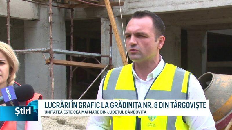 LUCRĂRI ÎN GRAFIC LA GRĂDINIȚA NR. 8 DIN TÂRGOVIȘTE