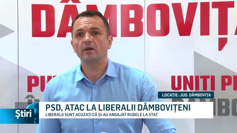 PSD, ATAC LA LIBERALII DÂMBOVIȚENI