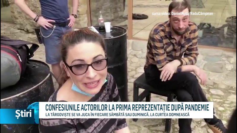CONFESIUNILE ACTORILOR LA PRIMA REPREZENTAȚIE DUPĂ PANDEMIE