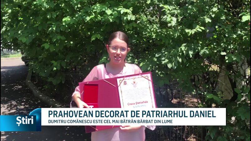PRAHOVEAN DECORAT DE PATRIARHUL DANIEL