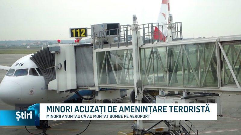 MINORI ACUZAȚI DE AMENINȚARE TERORISTĂ