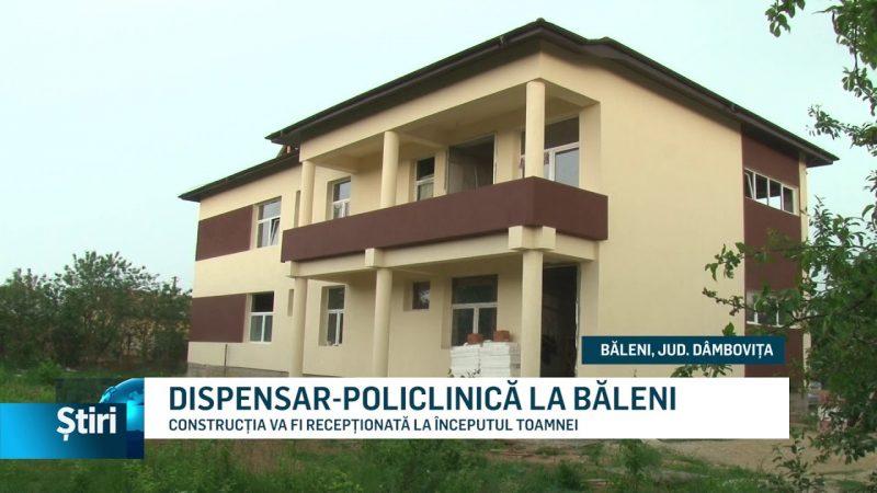 DISPENSAR-POLICLINICĂ LA BĂLENI