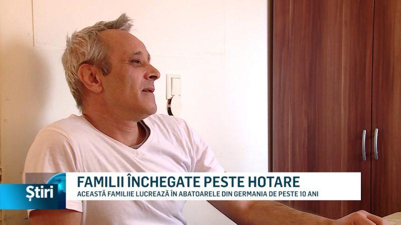 FAMILII ÎNCHEGATE PESTE HOTARE