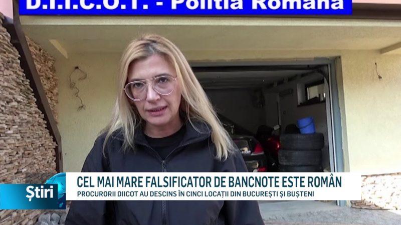 CEL MAI MARE FALSIFICATOR DE BANCNOTE ESTE ROMÂN
