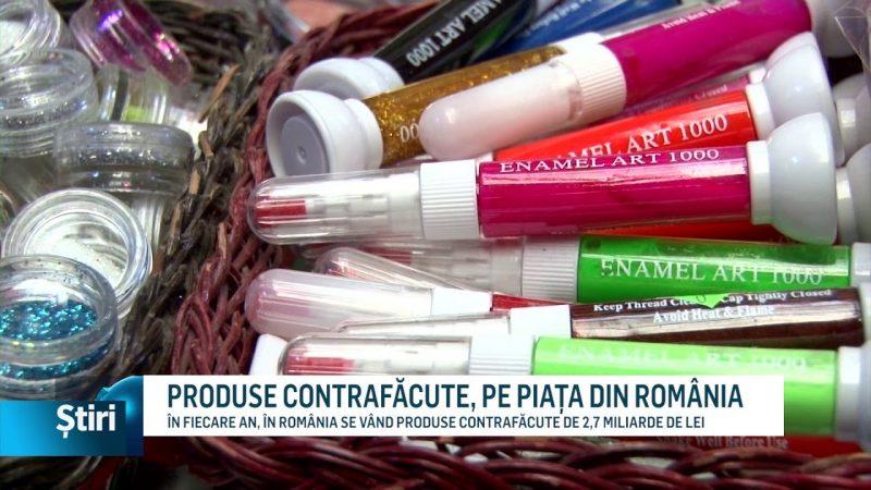 PRODUSE CONTRAFĂCUTE, PE PIAȚA DIN ROMÂNIA
